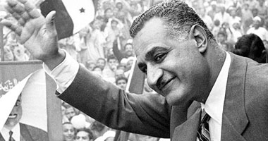 """Egyptian president Gamal Abdul Nasser (1956–70): """"We will enter Palestine with its soil saturated with blood"""""""